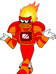 Jewel-themed Robot Master - Singe Ruby
