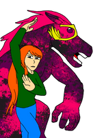 TRG's Bizarre Adventure -Lucahjin- NO NAMED HORSE by SilverKazeNinja