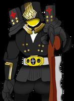 FGOxKR - Kamen Rider Chaldea - Caster Babbage by SilverKazeNinja