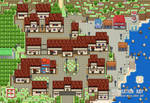 Pokemon A New Frontier : 1st map ? by Ray-one