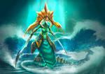 Fan art of the Naga Siren