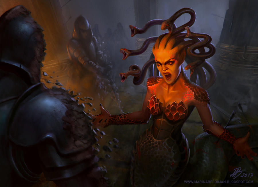 Medusa illustration