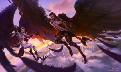 Harpies Battle