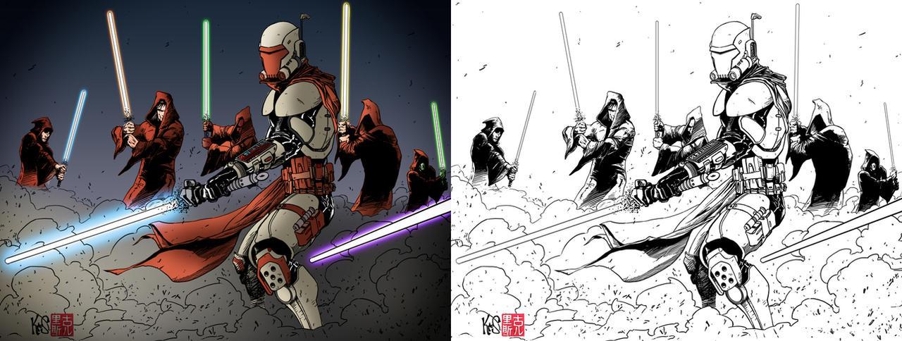 Mandalorian-Jedi War | Wookieepedia | FANDOM powered by Wikia