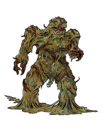 Swamp Thing by contralex