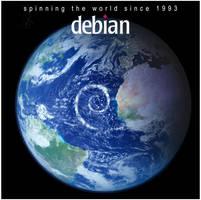 Debian Storm by nostromo2k3