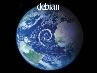 Debian Planet by nostromo2k3