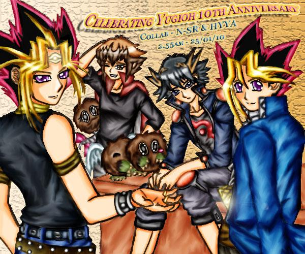 "Collab - Reunion ""Coloured"" by HikariYugiYamiAtemu"