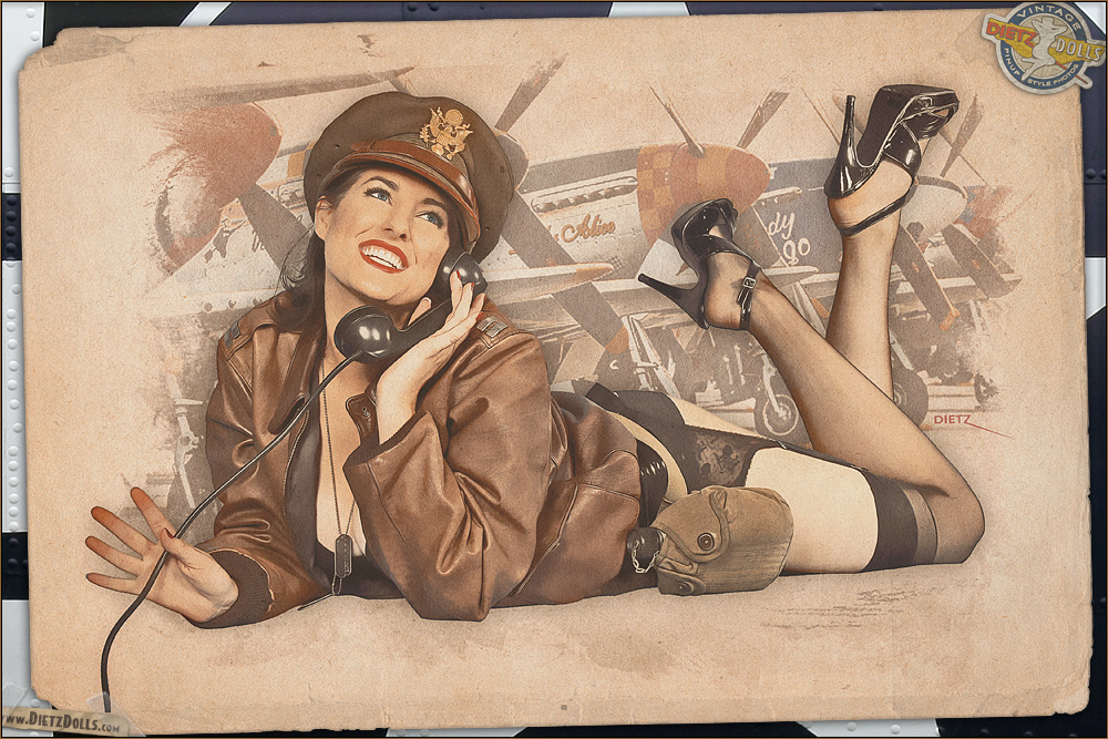 Pinups - Hello Boys! by warbirdphotographer