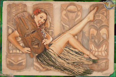 Pinups - Tiki Fun by warbirdphotographer