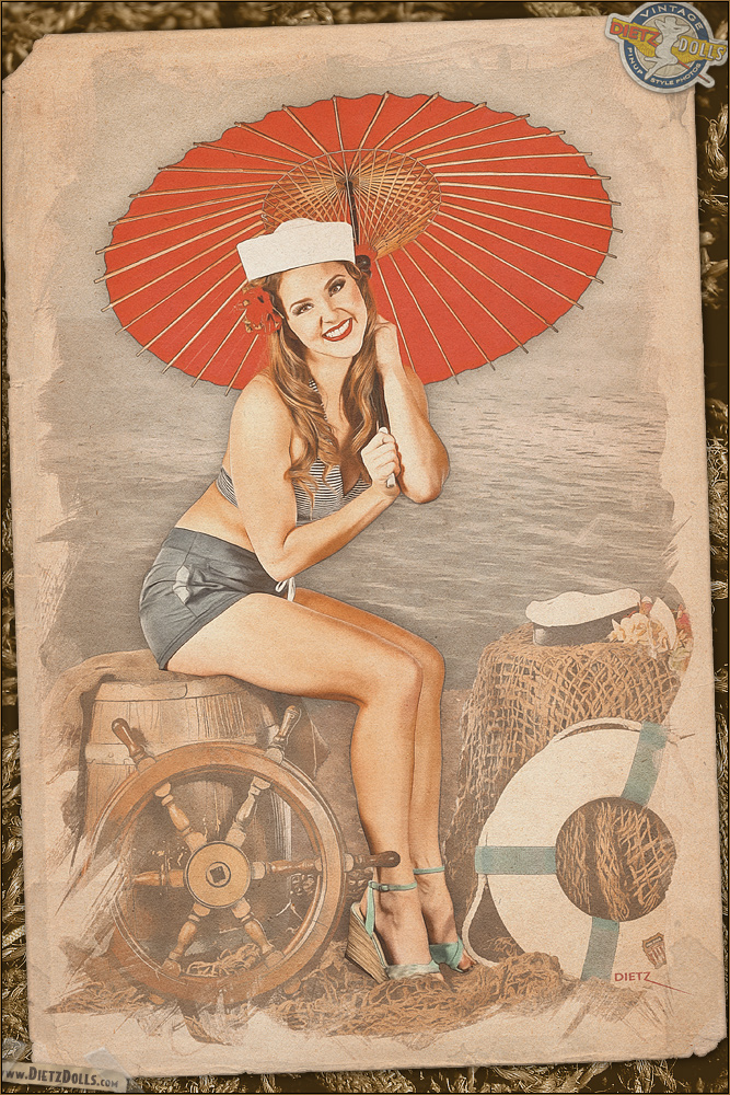 Pinups - Nautical Girl by warbirdphotographer