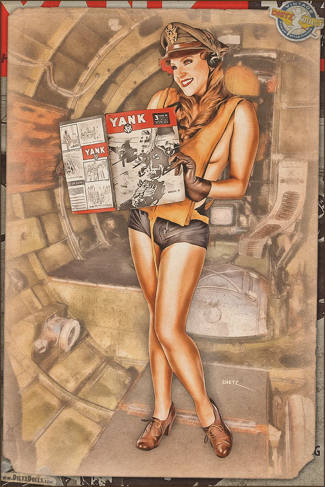Pinups - YANK Magazine by warbirdphotographer