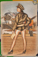 Pinups - Army Air Force Kelly by warbirdphotographer