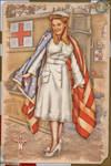 Pinups - Patriotic Nurse