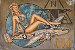 Aviation Pinups - B-25 Mitchell