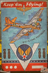 Aviation Poster Series - B-17 Flying Fortress