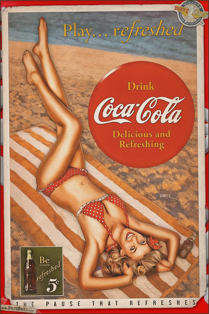 Pinups - Coca Cola by warbirdphotographer