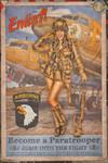 Propaganda Pinups - Enlist in the 101st Airborne