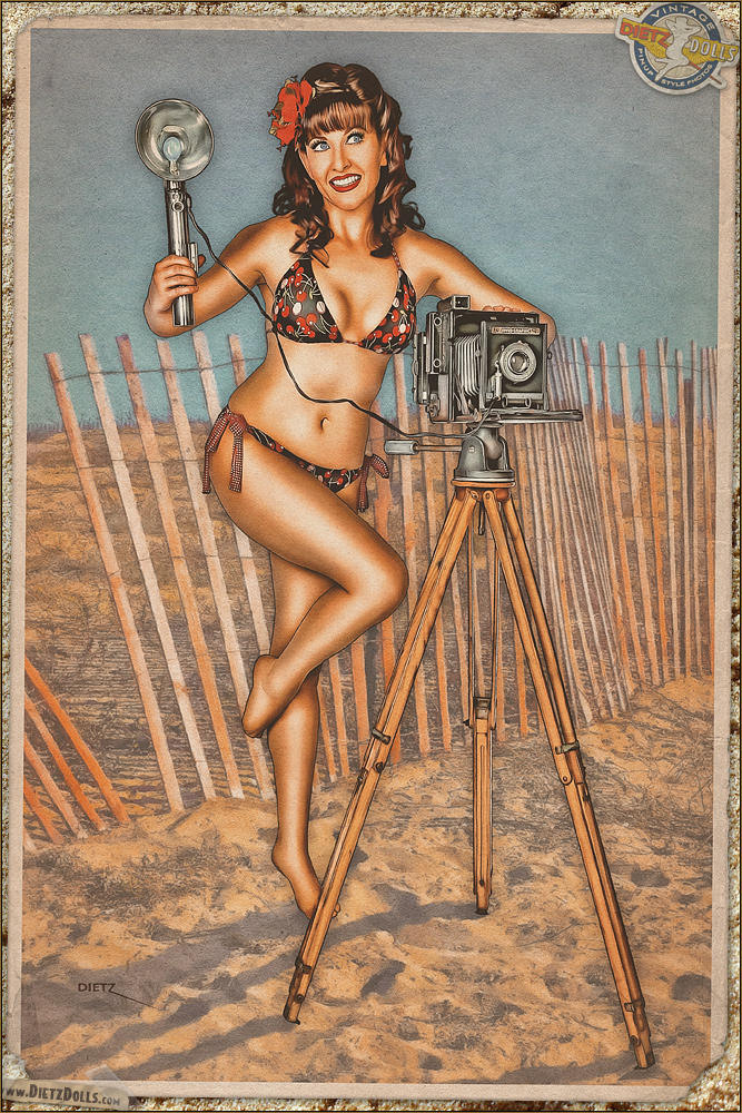 Pinups - Say Cheese! by warbirdphotographer