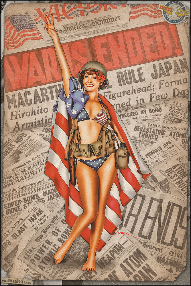 Pinups - VJ Day Tribute by warbirdphotographer