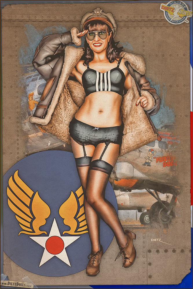 Pinups - Mrs. Invasion by warbirdphotographer