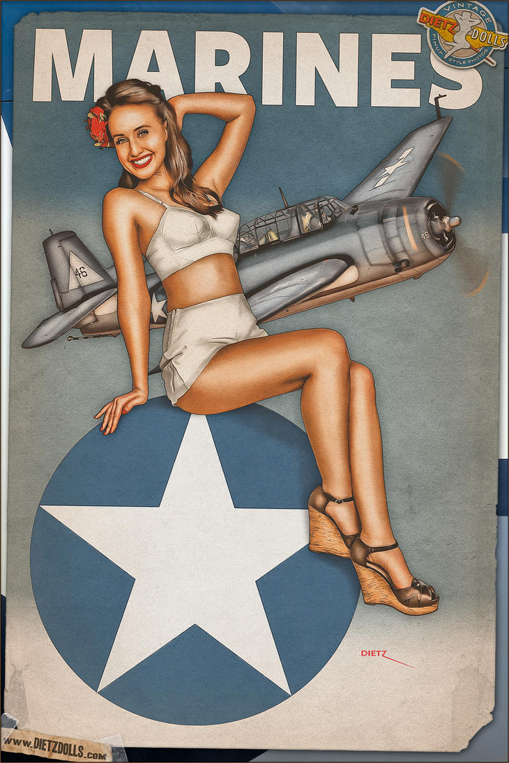 Best Military Branch To Join >> Pinups - Marine Corps Avenger by warbirdphotographer on DeviantArt