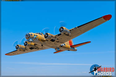 The Flying Fortress by warbirdphotographer