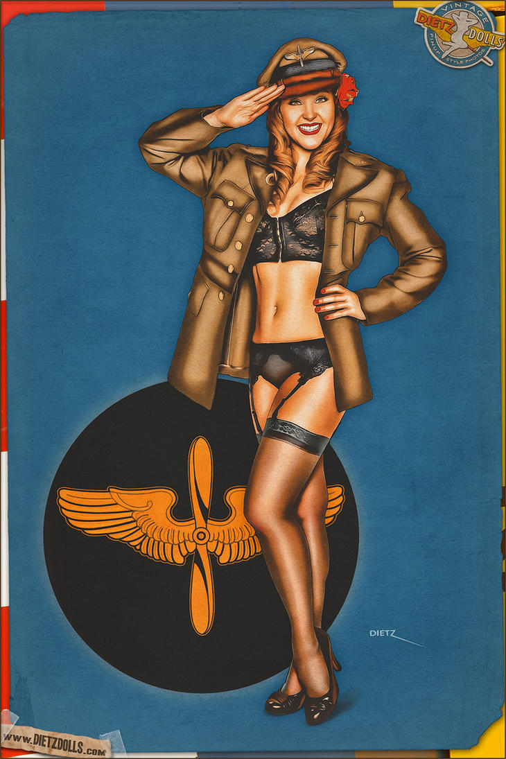 Pinups - Dressed for Flight! by warbirdphotographer