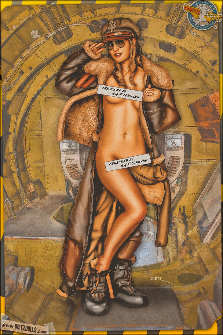 Pinups - Censored by AAF Command! by warbirdphotographer