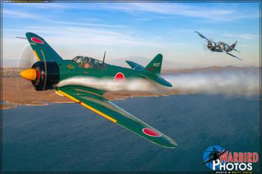 Airshow Crunch by warbirdphotographer
