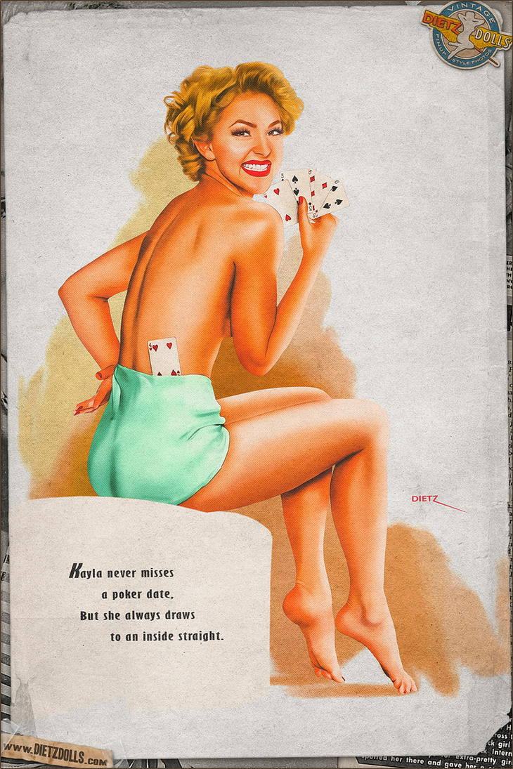 Pinups - Slight of Hand (Ted Withers Tribute) by warbirdphotographer