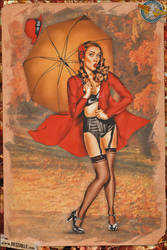 Pinups - Unexpected Wind by warbirdphotographer