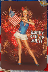 Pinups - Happy 4th of July!