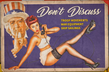Propaganda Pinups - Don't Discuss!!