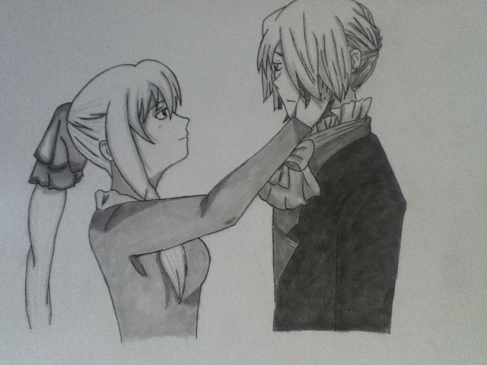 Pandora Hearts: Xerxes Break and Sharon Rainsworth by HopelessRomantic52