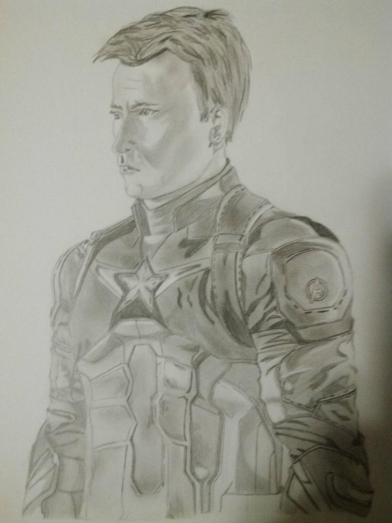 Captain America  by HopelessRomantic52