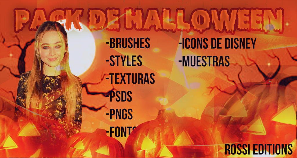PACK DE HALLOWEEN BY ROSSI EDITIONS by RossiEditions10