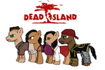 Dead Island ponified mane cast