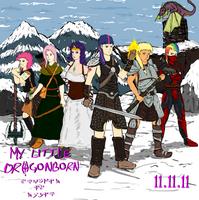 My Little Dragonborn Skyrim is Magic by glue123