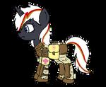 Velvet Remedy in Resistance Combat armor