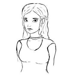 Daenerys Targaryen by glue123
