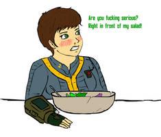 Littlepip's Salad