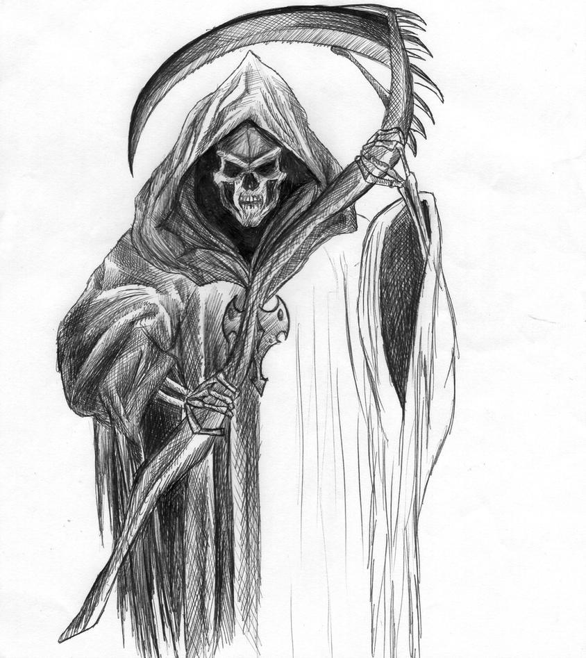 Grim Reaper WIP by Twizzy3344 on DeviantArt