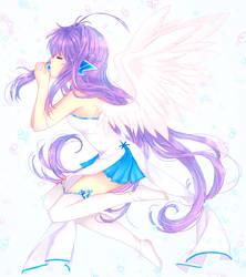 Inktober 2 - Lan by LavenderIced