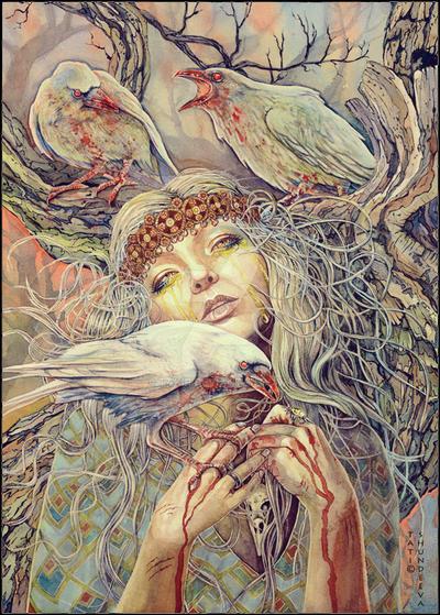 White Raven by Takir