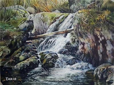 Waterfall by Takir