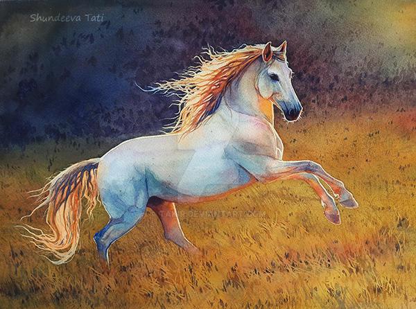 Horse-Fire by Takir