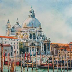 Santa Maria della Salute by Takir