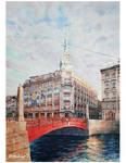 Au Pont Rouge St Peterburg
