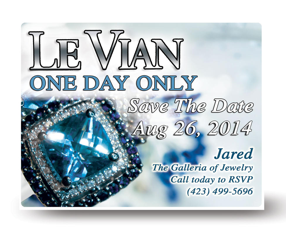 Le Vian postcard Blue by bassgeisha